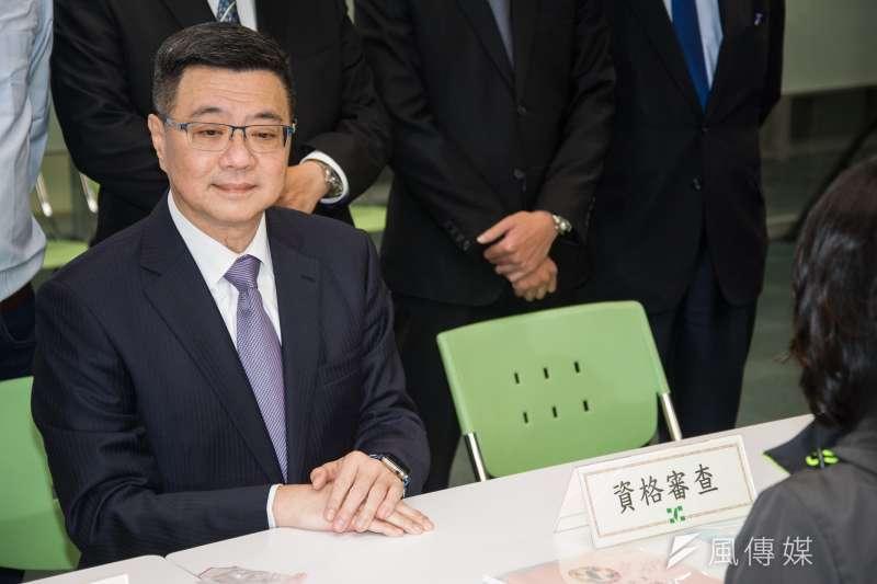 行政院秘書長卓榮泰說,希望用3個好,「想好、做好、讓人民說好」,讓民進黨重新出發。(資料照,甘岱民攝)