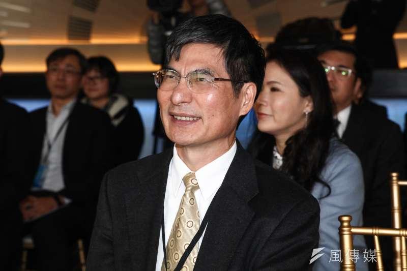 科技部長陳良基將接任教育部長。(蔡親傑攝)