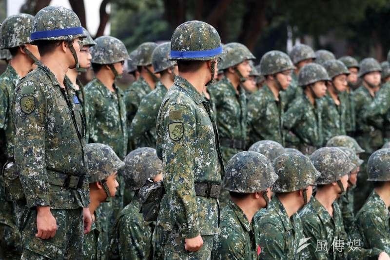 目前我國的兵役制度1年役期義務役已完全走入歷史,國軍已實質進入全志願役組成的階段。(資料照,郭晉瑋攝)