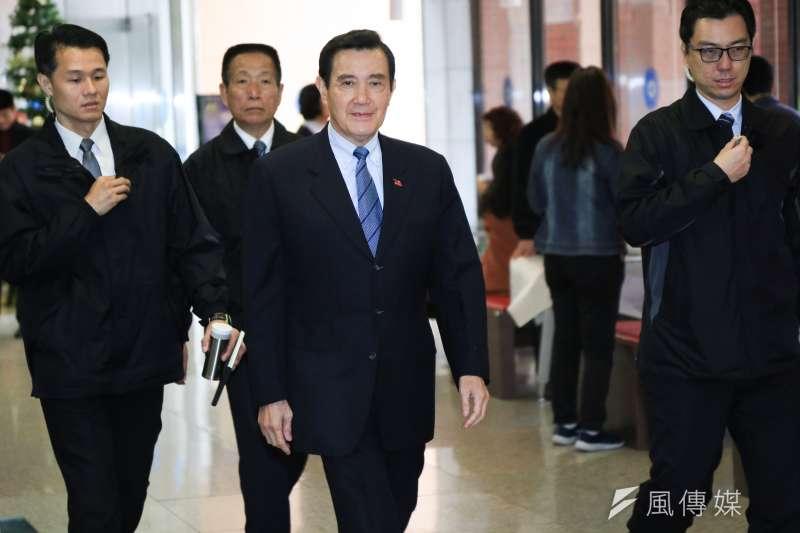 前總統馬英九16日受訪質疑總統蔡英文,若中國想買高雄的鳳梨,「你不准嗎?做不到嘛。」(資料照,簡必丞攝)