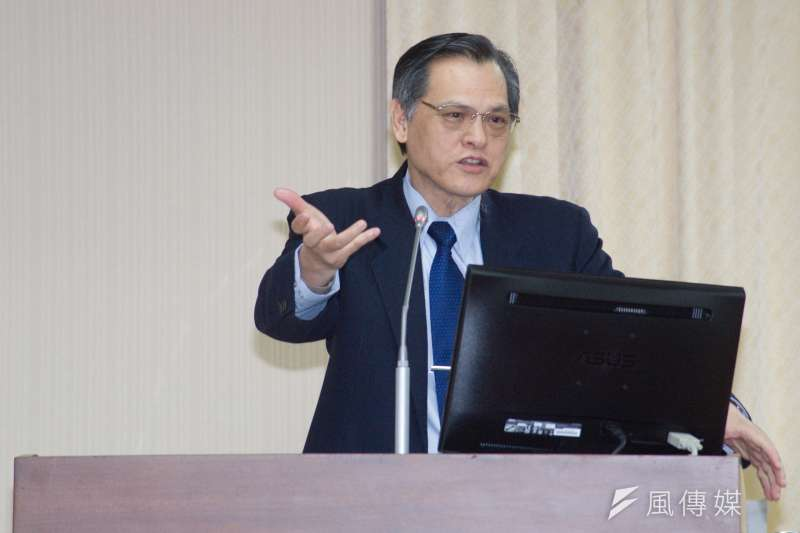 20181217-立法院內政委員會,陸委會主委陳明通。(甘岱民攝)