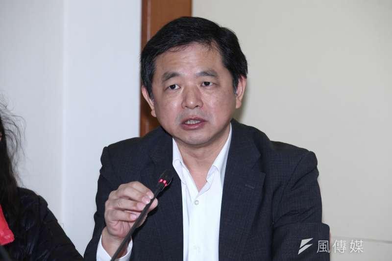 對於2020總統的布局,台灣永社理事長鄭文龍對總統蔡英文喊話,「2020大選請你不要再出來!」(資料照,蔡親傑攝)