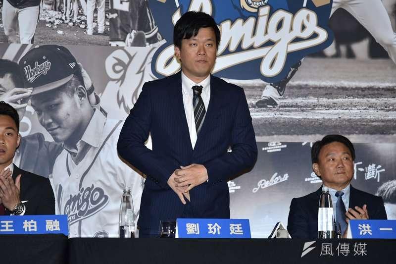 Lamigo桃猿領隊劉玠廷在桃猿粉絲團發文,向球迷說明球隊轉賣的原因。(資料照,王永志攝)