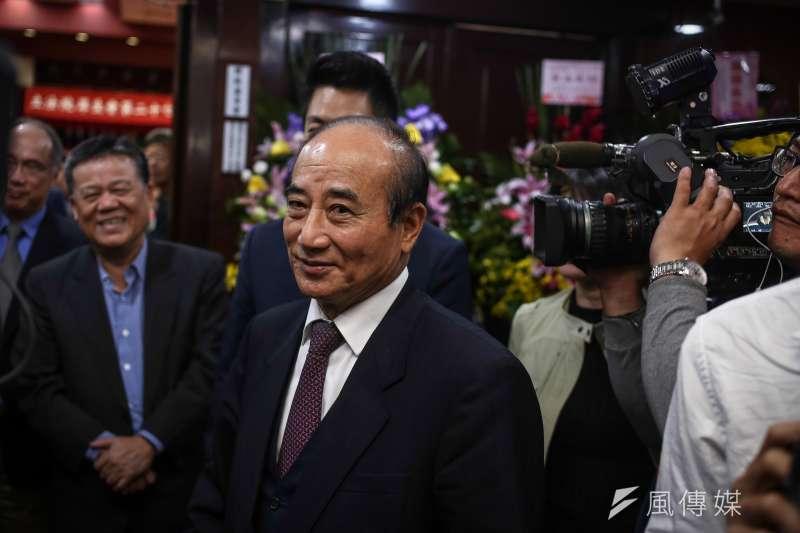前立法院長王金平談兩岸政策大方向。(資料照片,陳品佑攝)