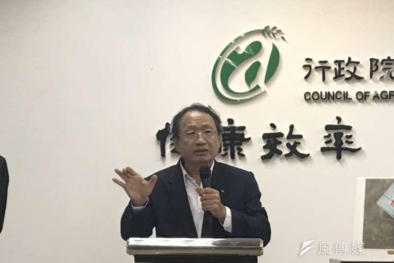20181221-農委會副主委黃金城。(廖羿雯攝)