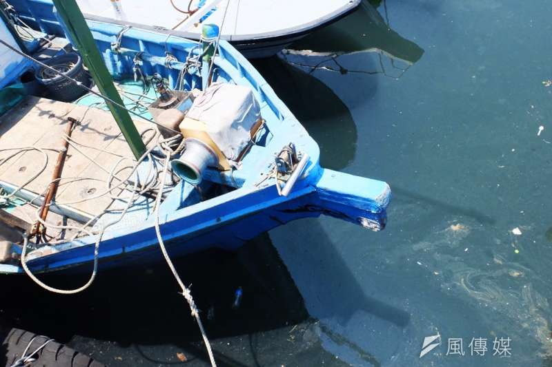 宜蘭縣蘇澳鎮近海漁業、漁工(謝孟穎攝)