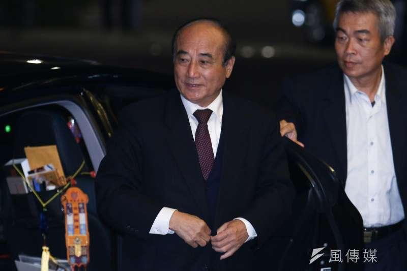 20181222-前立法院長王金平出席連詠心歸寧宴。(蔡親傑攝)