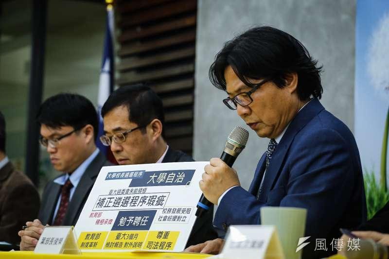 356天之後,教育部長葉俊榮終於宣布核定台大校長管中閔人事。(陳品佑攝)