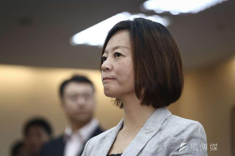 台北市社會局長陳雪慧坦言在台北市長柯文哲手下工作,確實有不小壓力。(陳品佑攝)