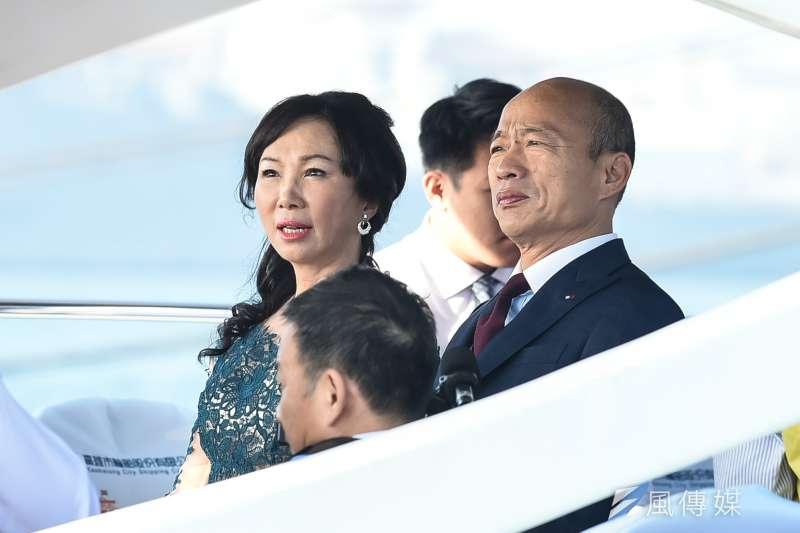 高雄市長韓國瑜婚外情長達10多年、還有一位私生女?資深媒體人黃光芹近日加碼指控,有所謂「鬥李佳芬集團」的存在,但遭黃文財嚴詞否認。(資料照,顏麟宇攝)