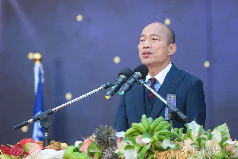 高雄市長韓國瑜預計3月與新加坡超市業者合作,簽訂3年長約,積極推銷高雄在地水果。(資料照,顏麟宇攝)