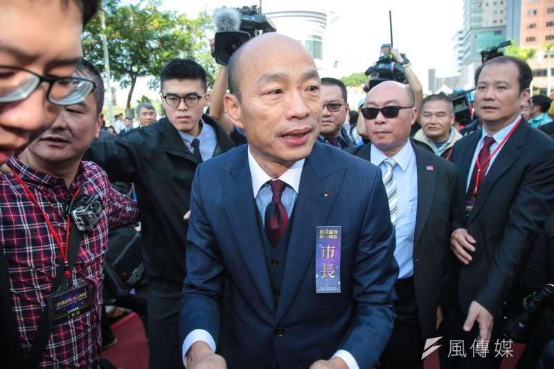 高雄市長韓國瑜批評政府未開放中資來台投資及購買房地產,陸委會25日表示,韓國瑜的批評與事實不符,中資來台投資及房地產早就開放。(顏麟宇攝)