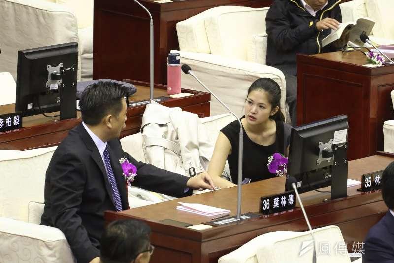 年輕的新科台北市議員們上任後第一件想達成的事情是什麼?時代力量北市議員林亮君主張「議會透明」,希望委員會都能有直播。(資料照,陳品佑攝)