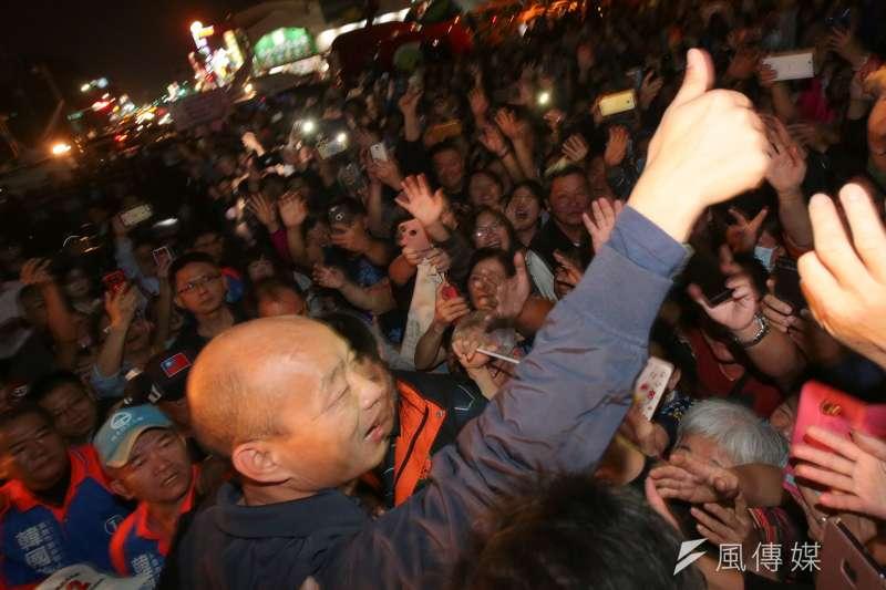 韓國瑜當選高雄市長,獨派為之崩潰,辜寬敏甚至說看不起因為「發大財」一句話而投票給韓的年輕人。(顏麟宇攝)