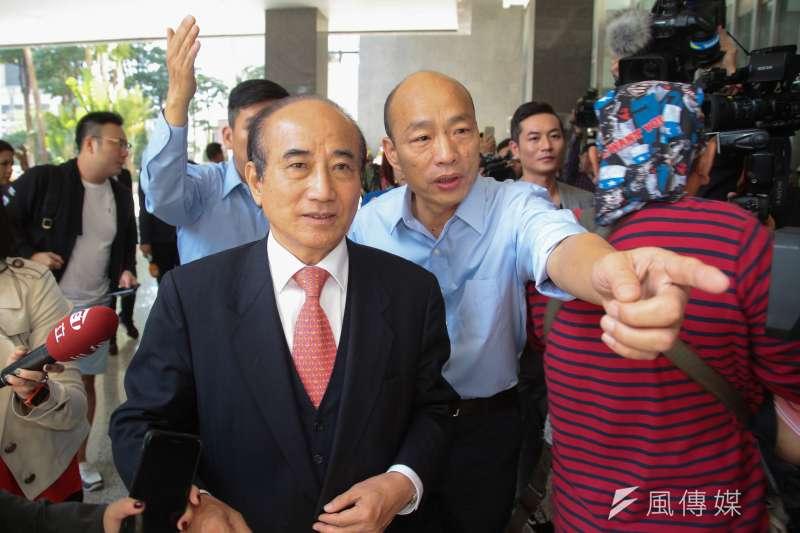 高雄市長韓國瑜拋出「高雄幣」概念,預計18日在3大熱門景點試辦發行,前立法院長王金平將出席與會。(資料照,顏麟宇攝)