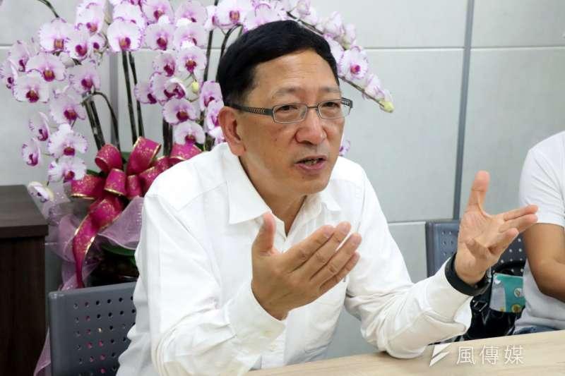 為推動高雄教育,高雄市教育局長吳榕峯提出三大主軸。(圖/徐炳文攝)