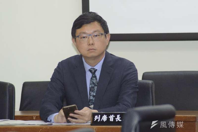 20181227-立法院經濟委員會,農委會副主委李退之。(甘岱民攝)