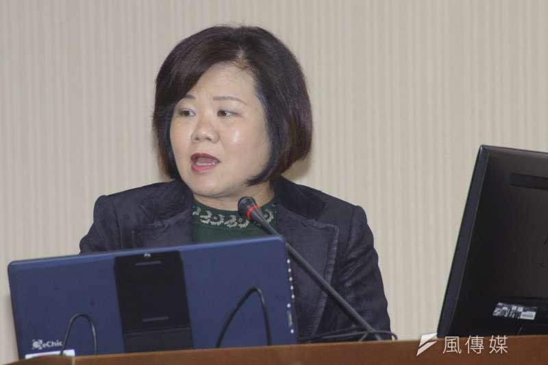 20181227-立法院衛環委員會,勞動部長許銘春。(甘岱民攝)