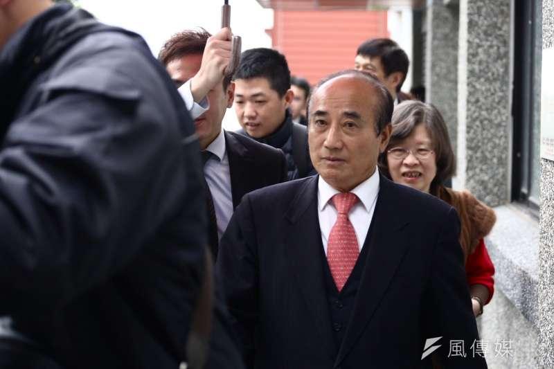 前立法院長王金平談2020總統大選。(資料照片,陳品佑攝)