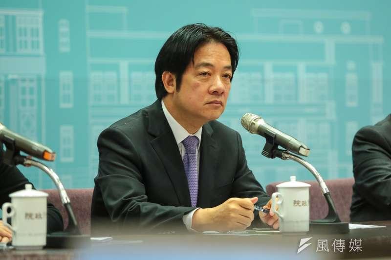 作者指出,自賴清德組閣以來,將「改善台灣國際競爭力」列為國家施政優先項目,一年多來,的確推動許多強化台灣國際競爭力的具體行動。(資料照,顏麟宇攝)