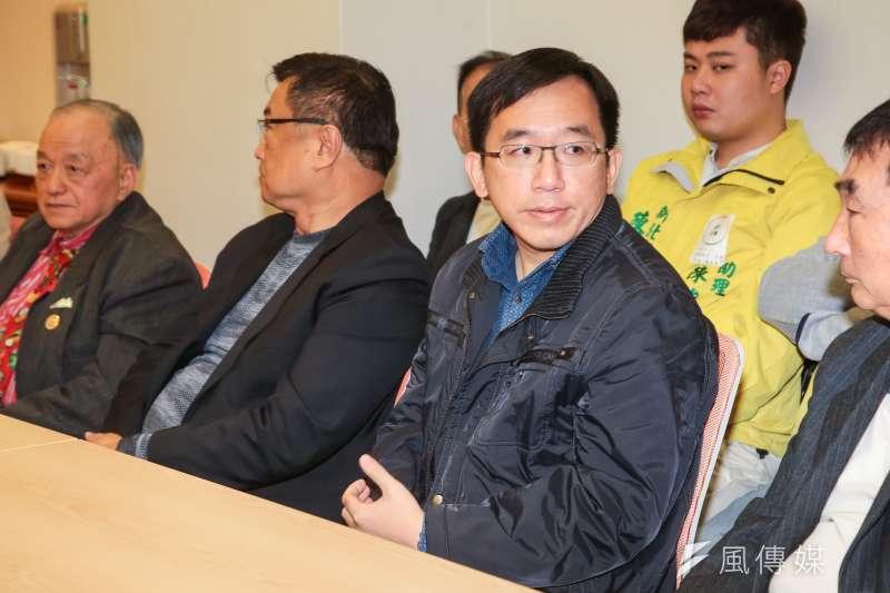 高雄市議員陳致中要求韓國瑜若參選總統,應辭去高雄市長一職。(資料照片,顏麟宇攝)