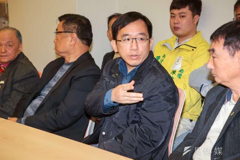 民進黨高雄市議員陳致中表示會支持黨提名候選人。(資料照片,顏麟宇攝)