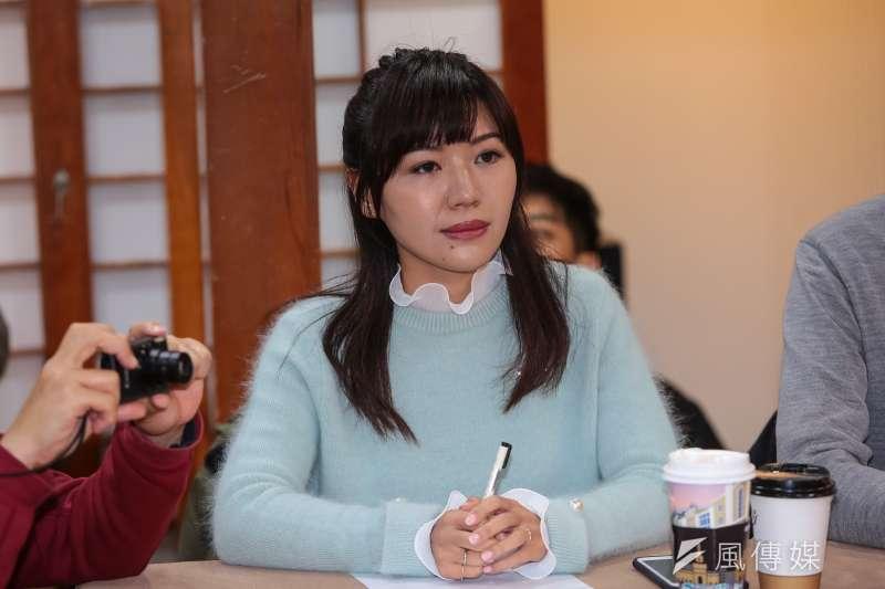 20181229-台北市議員吳沛憶29日出席「世代對話,談改革」座談。(顏麟宇攝)