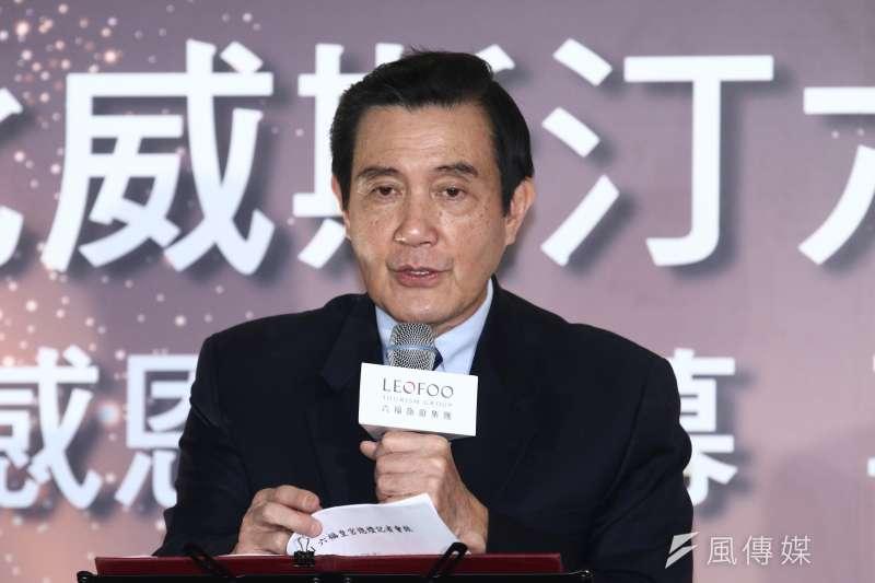 前總統馬英九涉洩密案,最高法院3日發回更審。(資料照,蔡親傑攝)
