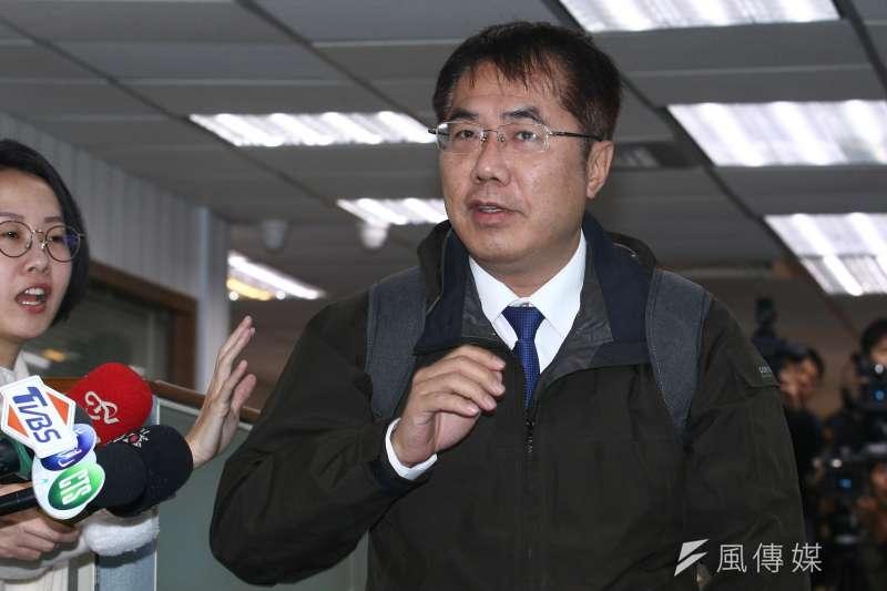 民進黨總統初選的英德之爭打破黨內「現任優先」的慣例,未來最受衝擊的恐是台南市長黃偉哲(見圖)的連任路。(資料照,蔡親傑攝)