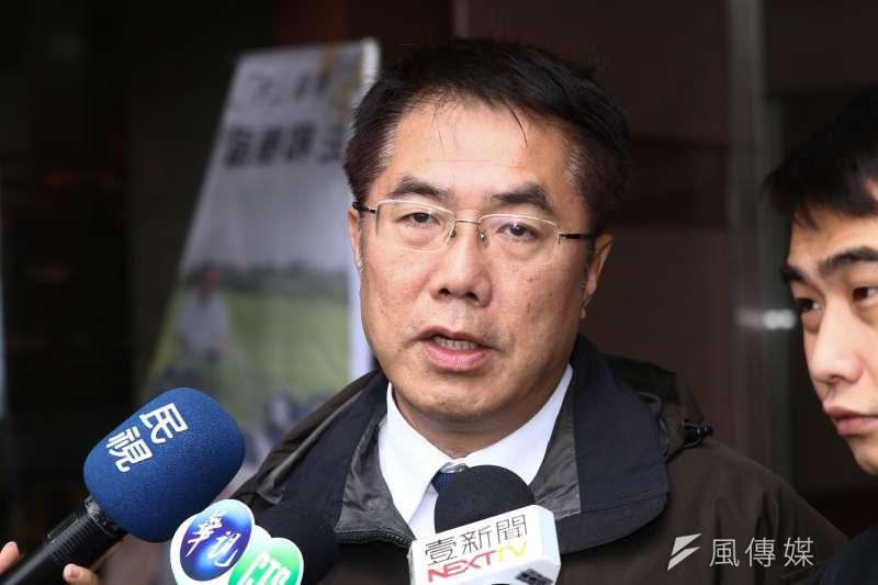 台南市長黃偉哲對於台南觀光旅遊被唱衰感到遺憾痛心。(資料照,蔡親傑攝)