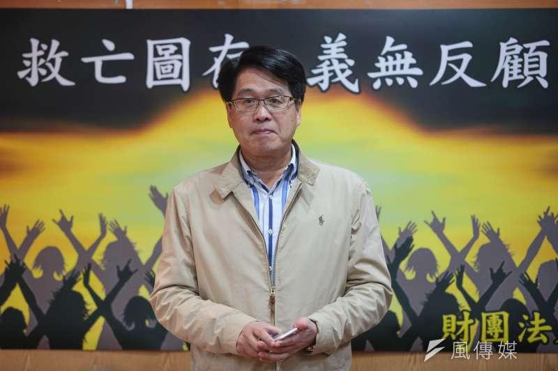 民進黨主席候選人游盈隆表示,民進黨要贏回台灣人的民心,不可能只靠新聞造勢、對岸助威。(資料照片,顏麟宇攝)