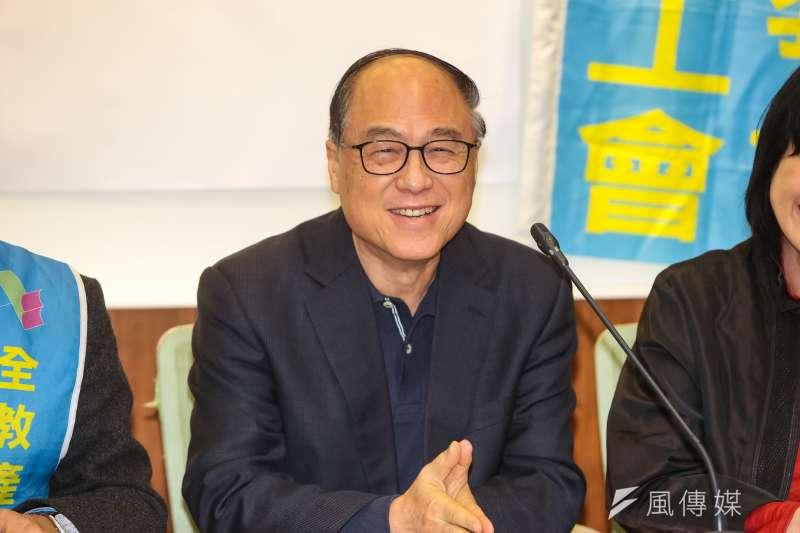20190103-國民黨立委蔣乃辛3日出席「建議建置疫苗接種或施打電腦登錄系統」記者會。(顏麟宇攝)