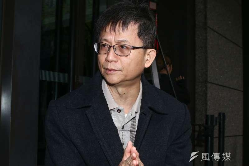 20190103-群創教育基金會「空汙把脈,清淨台灣」發表會。圖為前環保署副署長詹順貴。(蔡親傑攝)