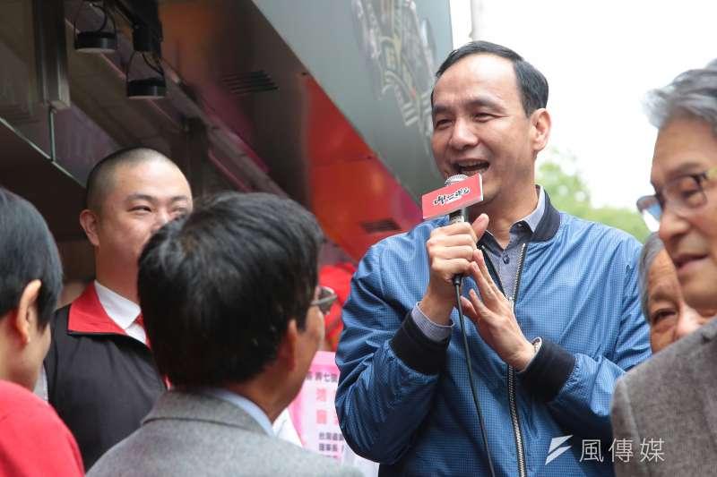 這樣跳針九二共識的國民黨,如果可以贏得2020年的總統大選,也只能說台灣香港化的未來應該可以預見。(顏麟宇攝)