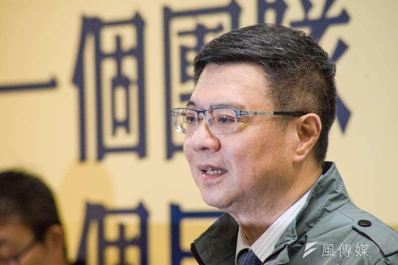 民進黨主席當選人卓榮泰。(甘岱民攝)