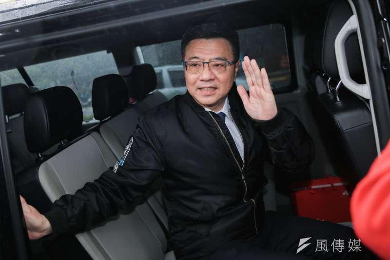 卓榮泰當選民進黨主席。(簡必丞攝)