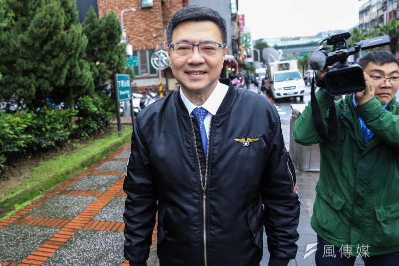 民進黨主席卓榮泰(左)說,直播後不覺得館長是討厭民進黨,而是人民對民進黨有很高的期望。(資料照,簡必丞攝)