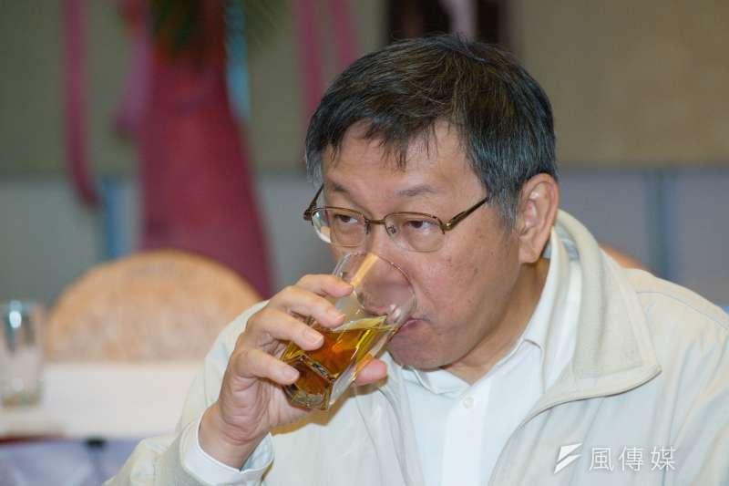 新民進黨主席卓榮泰說,未來不排斥與台北市長柯文哲(見圖)見面。(資料照,甘岱民攝)