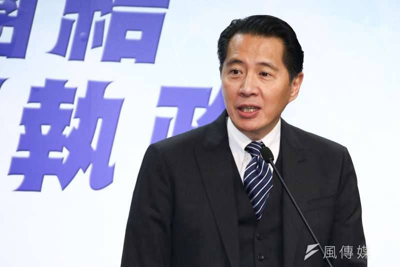 國民黨發言人歐陽龍今天說,檢討年金改革將是國民黨2020選戰主軸,並非為了選票,而是盼找回公平、正義。(資料照,蔡親傑攝)