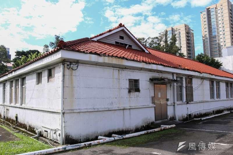 20190110-台灣當代文化實驗場,空總舊址實驗建築,某些建築還保留日式建築風格。(蔡親傑攝)