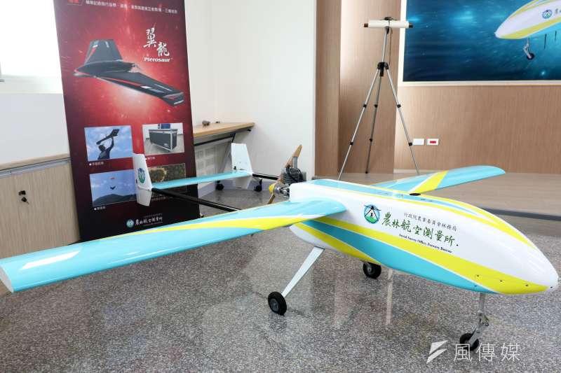 近年空拍機數量遽增,農委會林務局農航所兩架「熊鷹」無人機才剛成軍,未來計畫再增加兩架,以執行單位所需的航拍業務。(蘇仲泓攝)