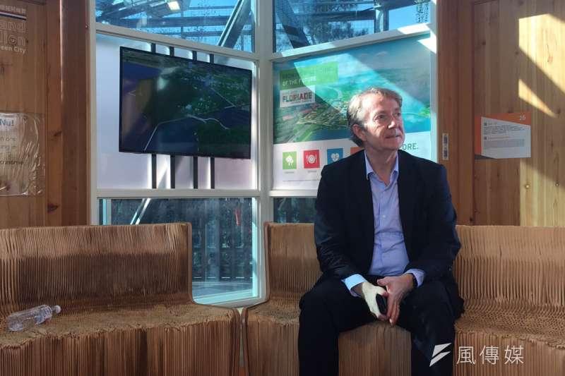 20190111-荷蘭貿易暨投資辦事處代表紀維德(Guy Wittich)。(尹俞歡攝)