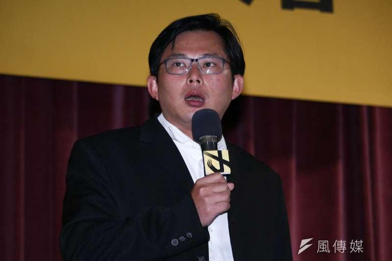 時代力量12日召開黨員大會,黨主席黃國昌表示,他有信心,在2020年全國大選中,全國支持度一舉衝破20%,讓時代力量成為真正代表年輕人心聲的第三勢力。(蔡親傑攝)