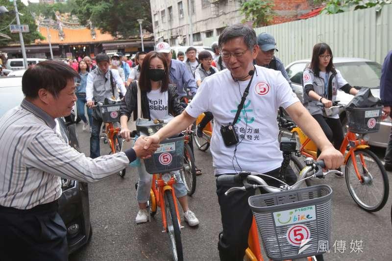 政大選研民調,台北市長柯文哲再度為2020總統人選第一名。(資料照片,顏麟宇攝)