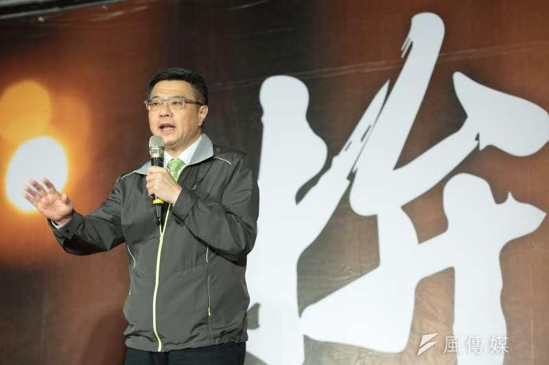 圖為民進黨主席卓榮泰。(顏麟宇攝)