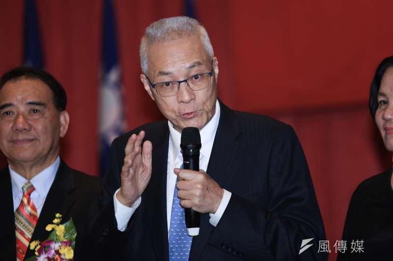 國民黨主席吳敦義近日又再度強調「九二共識,一中各表」。但呂秋遠律師卻不這樣看……(簡必丞攝)
