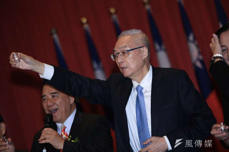 總統府指未曾收到國民黨主席吳敦義參加國共論壇申請。(資料照片,簡必丞攝)
