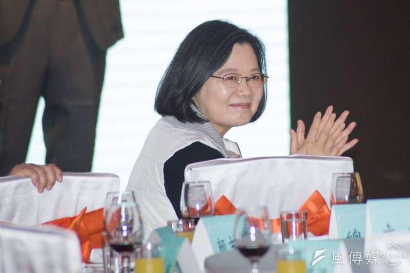 20190113-小英志工團尾牙餐會,總統蔡英文出席。(甘岱民攝)