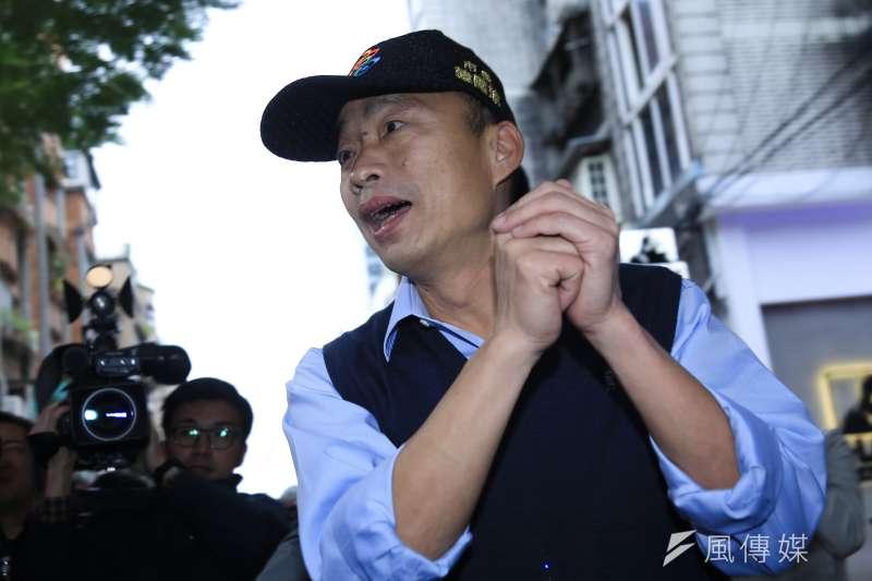 高雄市長韓國瑜力推高雄幣,盼迎來更多觀光收入。(資料照,簡必丞攝)