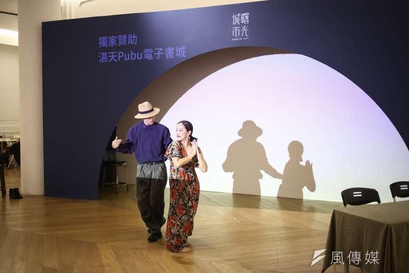 20190114-城市曙光聞香起舞音樂會,現場展出由小事製作帶來舞蹈演出。(陳品佑攝)